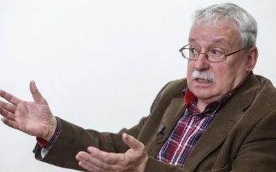Joaquín Leguina: «Para cualquier persona racional la situación de España es de locos»