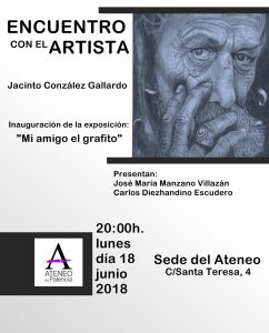 ENCUENTRO CON EL ARTISTA @ Sede del Ateneo
